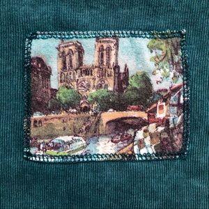 Vintage Notre Dame Cathedral Top